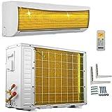 A++/A++ ECO Smart Inverter Golden-Fin 12000 BTU 3,5 kW Split Klimaanlage mit Wärmepumpe INVERTER Klimagerät und Heizung