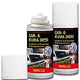 ABACUS CAR DESI 2X 200 ml (7301) -Klimareiniger Klimaanlagenreiniger Klimadesinfektion Klimaanlagendesinfektion Klima Anlagen Reiniger Desinfektion-Air Conditioner AC-Cleaner