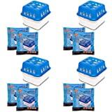 4X Ultra Fresh Luftentfeuchter Feuchtigkeits-Stopper mit Nachfüll-Beutel Granulat