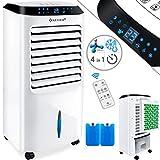 KESSER 4in1 Mobile Klimaanlage | Fernbedienung | Klimagerät | Ventilator Klimaanlage | 10 L Tank | Timer | 3 Stufen | Ionisator Luftbefeuchter | Luftkühler | Weiß