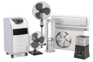 Mobile Klimaanlage und Klimagerät mit und ohne Abluftschlauch